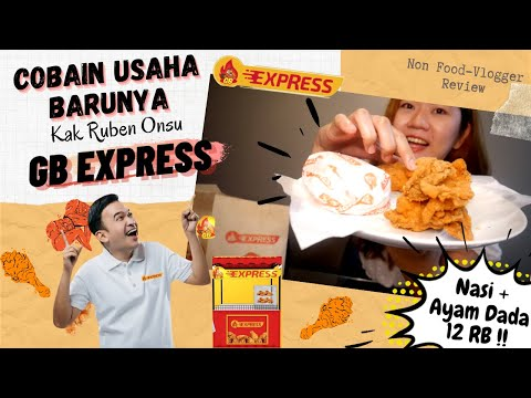 REVIEW JUJUR GB EXPRESS BY RUBEN ONSU    NON FOOD VLOGGER REVIEW