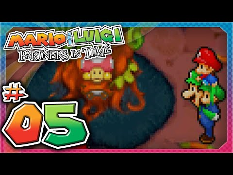 Mario and Luigi: Partners In Time - Part 5: Toadwood Forest!
