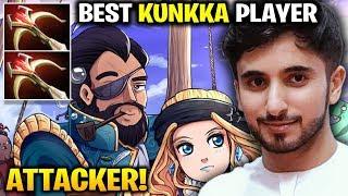 Attacker! Kunkka - No Doubt that He is the Best Kunkka Player