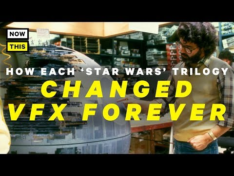 How Each Star Wars Trilogy Changed Special Effects Forever   NowThis Nerd
