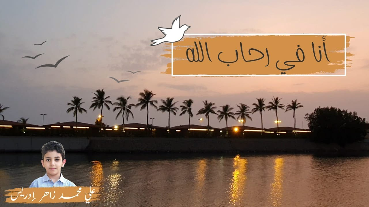 أنا في رحاب الله طائر || أداء علي محمد زاهر إدريس