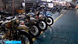 Партия мотоциклов из Ирбита отправилась на американский рынок