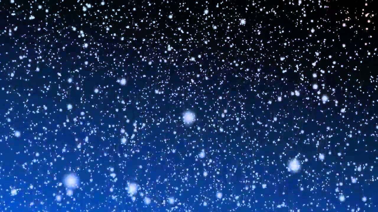 Falling Stars Live Wallpaper 10 Hours Snow Falling Video Amp Audio Blue B G Hd Slowtv