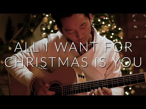All I Want For Christmas Is You Mariah Carey  Fingerstyle Acoustic Guitar