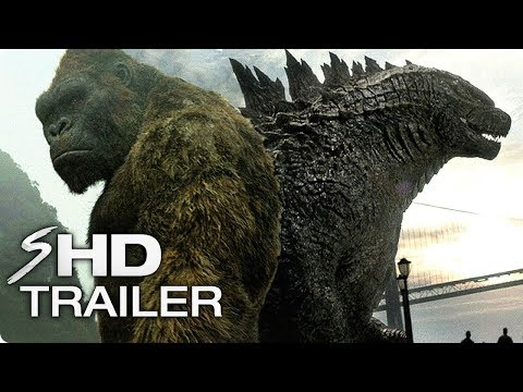 """Godzilla vs. Kong (2020) Official Tease """"Not the only King"""" End Credit – Godzilla: King of Monsters"""