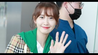 180530 소녀시대(SNSD) 윤아 (인천공항 출국)
