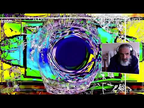 Change your  Brain Timothy Leary Abstract Rhythm in  Time DigitalART  by Alan silva