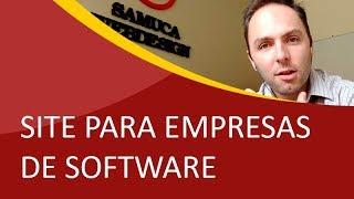 Criação de Sites em São Bento do Sul - Lançamento do Novo Site da Ágil Backup - Samuca Webdesign