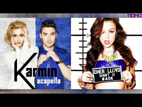 Karmin ft. Cher Lloyd - Acapella Back (Mashup) T10MO
