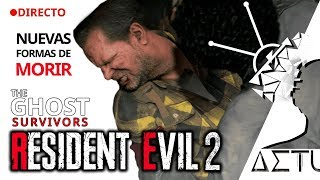 Resident Evil 2 (2019 Remake) The Ghost Survivors   3 Personajes y Zombis Nuevos