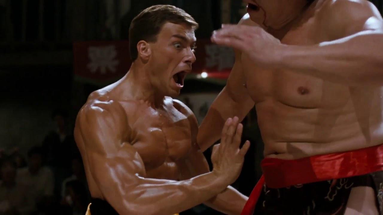 Van Damme Contacto Sangriento Bloodsport Clip 2 Gardenias Youtube