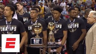 NBA summer league highlights: Trail Blazers top Lakers to win championship | ESPN