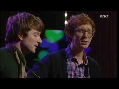 Kings of Convenience sing