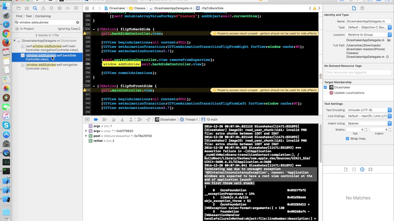 root application windows