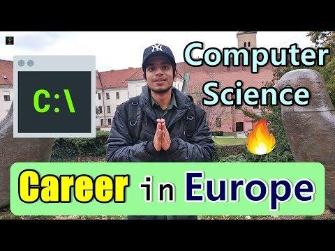 [HINDI] Careers In Europe | Computer Science | Salary, Scope, Jobs | Czech Republic