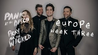 Panic! At The Disco - Pray For The Wicked Tour (Europe Week 3 Recap)