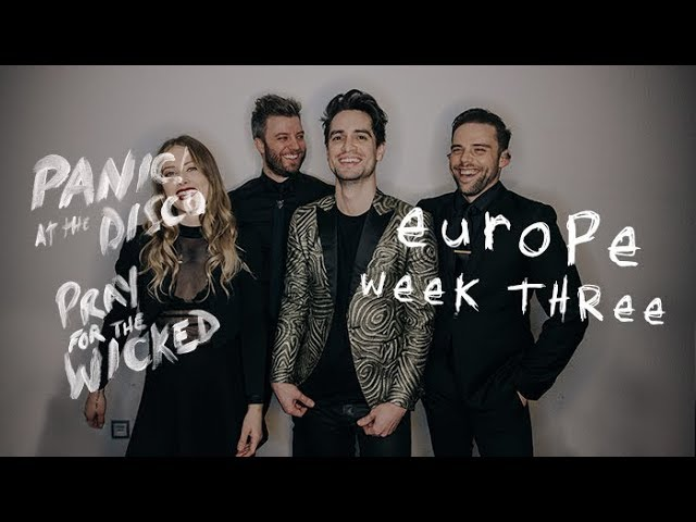 1ebab4f0 Panic! At The Disco — Pray For The Wicked Tour (Europe Week 3 Recap ...