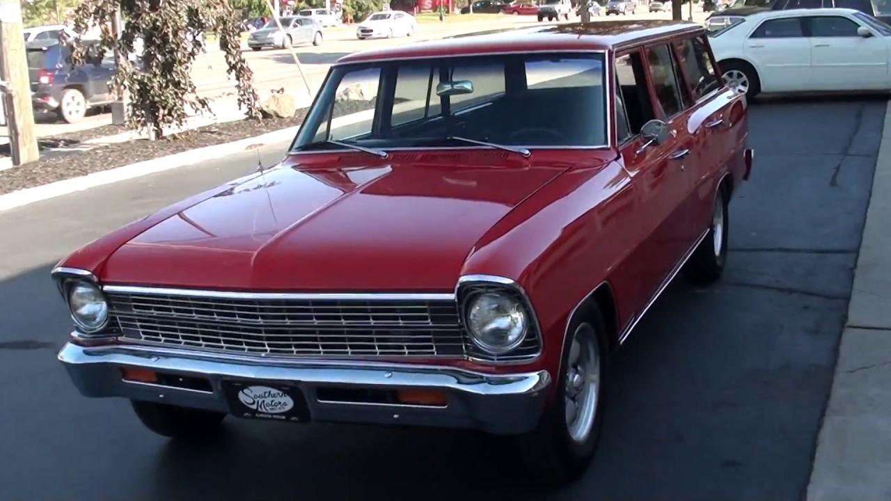1967 Chevrolet Nova Wagon  23 900 00