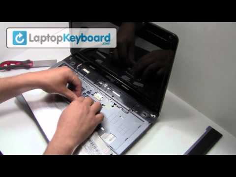 Acer Aspire Laptop Keyboard Installation Replacement Guide - Remove Replace Install, 5332 5532