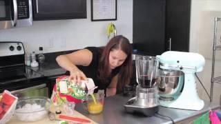 How To Make Frozen Red Wine Slush : Yum Yum Summertime