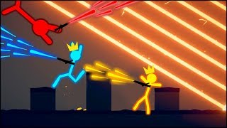 WORLD'S MOST DANGEROUS STICK FIGHTER TROLL EVER!! (Stick Fight #1)