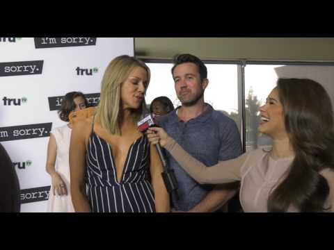 I'M SORRY Premiere - Kaitlin Olson & Rob McElhenney INTERVIEW
