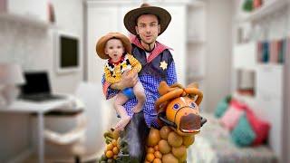Cinq Enfants Histoires drôles pour les enfants