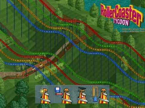 RollerCoaster Tycoon 1 Opening