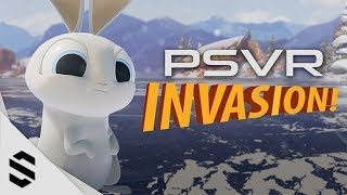 【入侵!】(VR測試片)超可愛VR互動微電影完整版 - INVASION ! - PlayStation VR