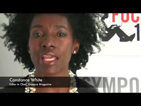 FOCUS100  Constance White, Editor in Chief, Essence Magazine