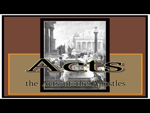 New Testament - Acts 9:20-43 Begin - (Apostle Paul)
