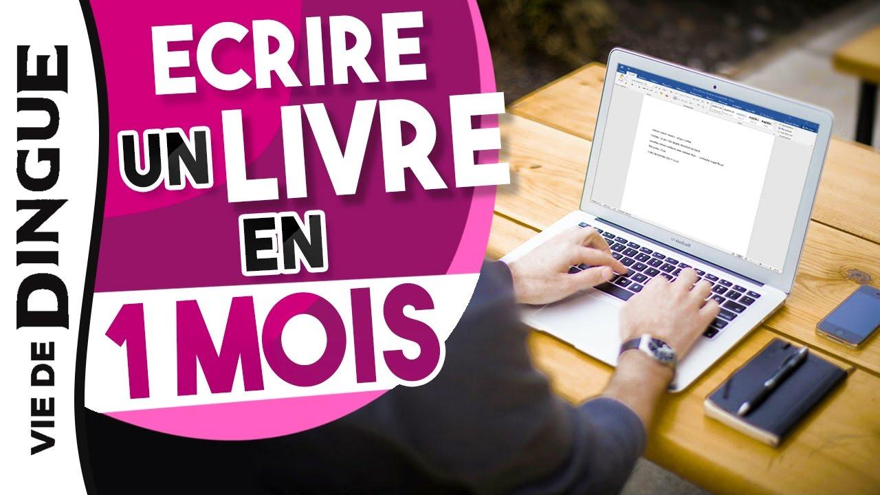 c378011ff05 COMMENT ECRIRE UN LIVRE EN 1 MOIS ET LE PUBLIER ! - YouTube