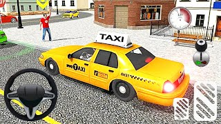 City Taxi Driving simulator PVP Cab Games 2020 - Amazing Modern Taxi - Fly Mode - Android Gameplay screenshot 5