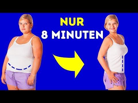 8-Minuten-Training, das dich in einer Woche von Fett befreit