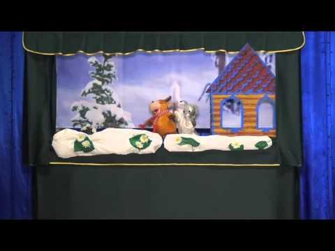 835 Сказка Зайкина избушка ,Кукольный театр Арлекин МБУК Уренский РДК
