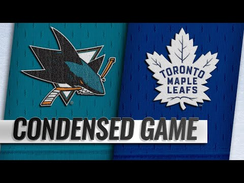 11/28/18 Condensed Game: Sharks @ Maple Leafs