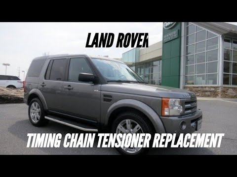 Land rover 4.4 timing chain tensioner replacement/ engine in