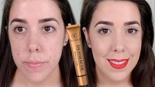 DERMACOL ¿WATERPROOF? ¿FULL COVER? ¿LA MEJOR BASE? | REVIEW