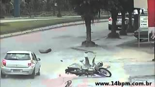 Acidente de trânsito - 14ºBPM Jaragua do Sul SC