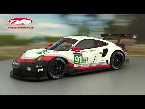 Porsche 991 911 RSR GTE 24h Le Mans 2019 Lietz Makowiecki 1:87 Spark 87S150 NEU