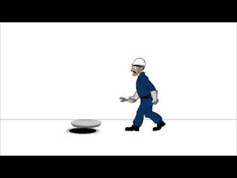 Animation The Crazy Worker by Manish