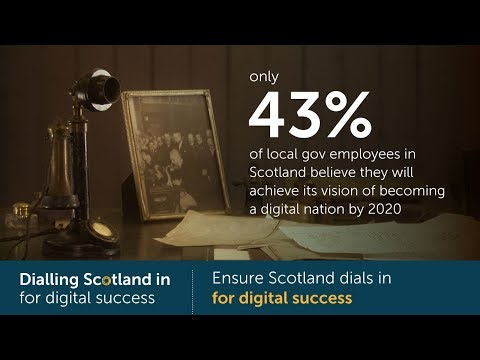 Ensure Scotland dials in for digital success
