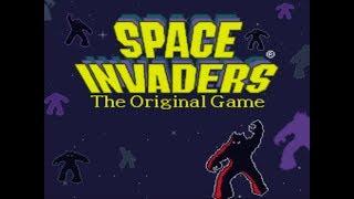 20 minutos de games antigos: 5 minutos de Space Invaders XD (Snes)