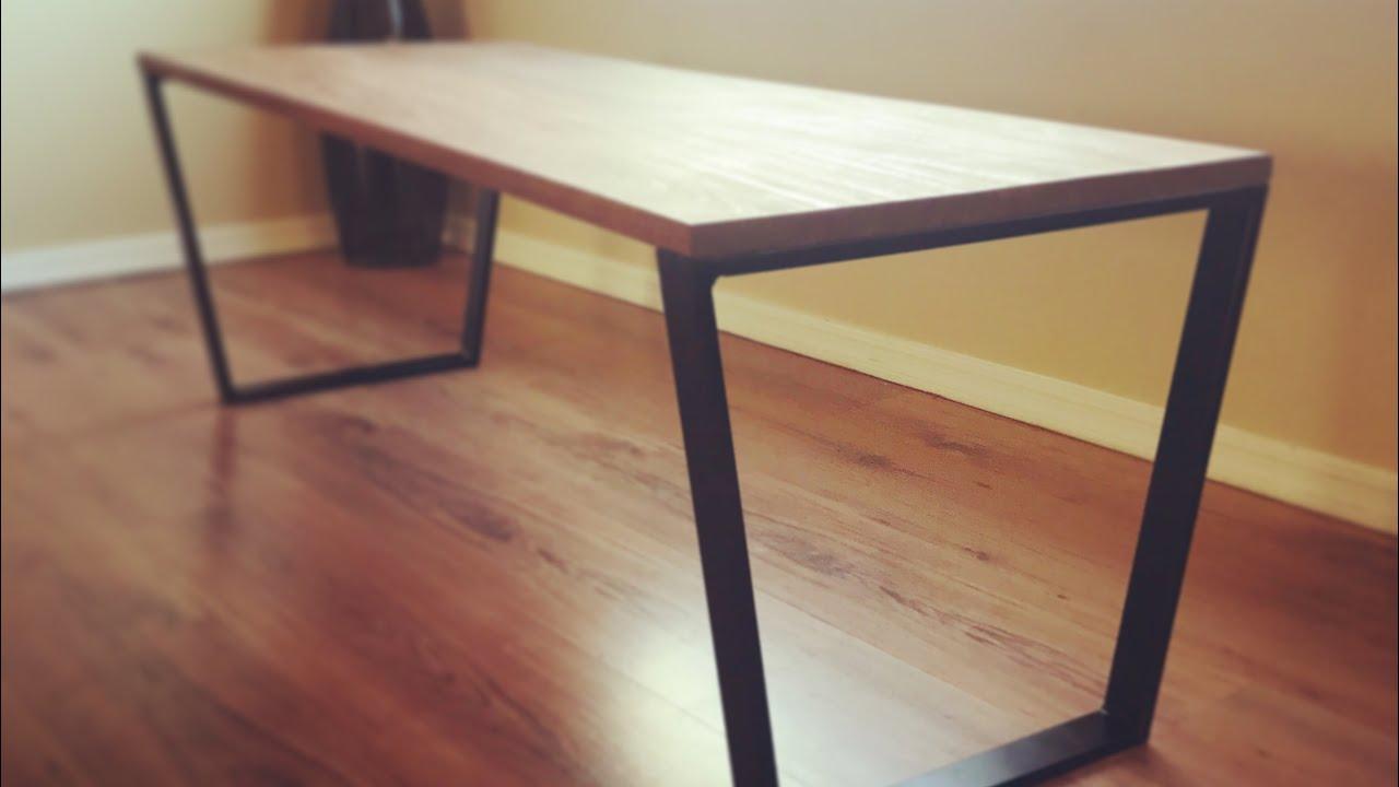 Diy Coffee Table Welding Metal Table Legs Youtube