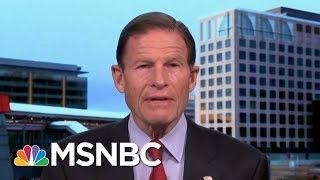 Senator Richard Blumenthal Says Arming Teachers Is 'Toxic Lunacy,' | Morning Joe | MSNBC