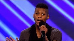 Lascel Woods' audition - The X Factor 2011 - itv.com/xfactor