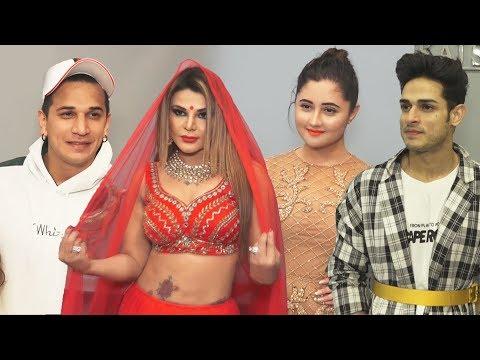 Priyank Sharma, Rakhi Sawant,Vikas Gupta And Other Bollywood Celebs At Pankaj Soni's Store Launch