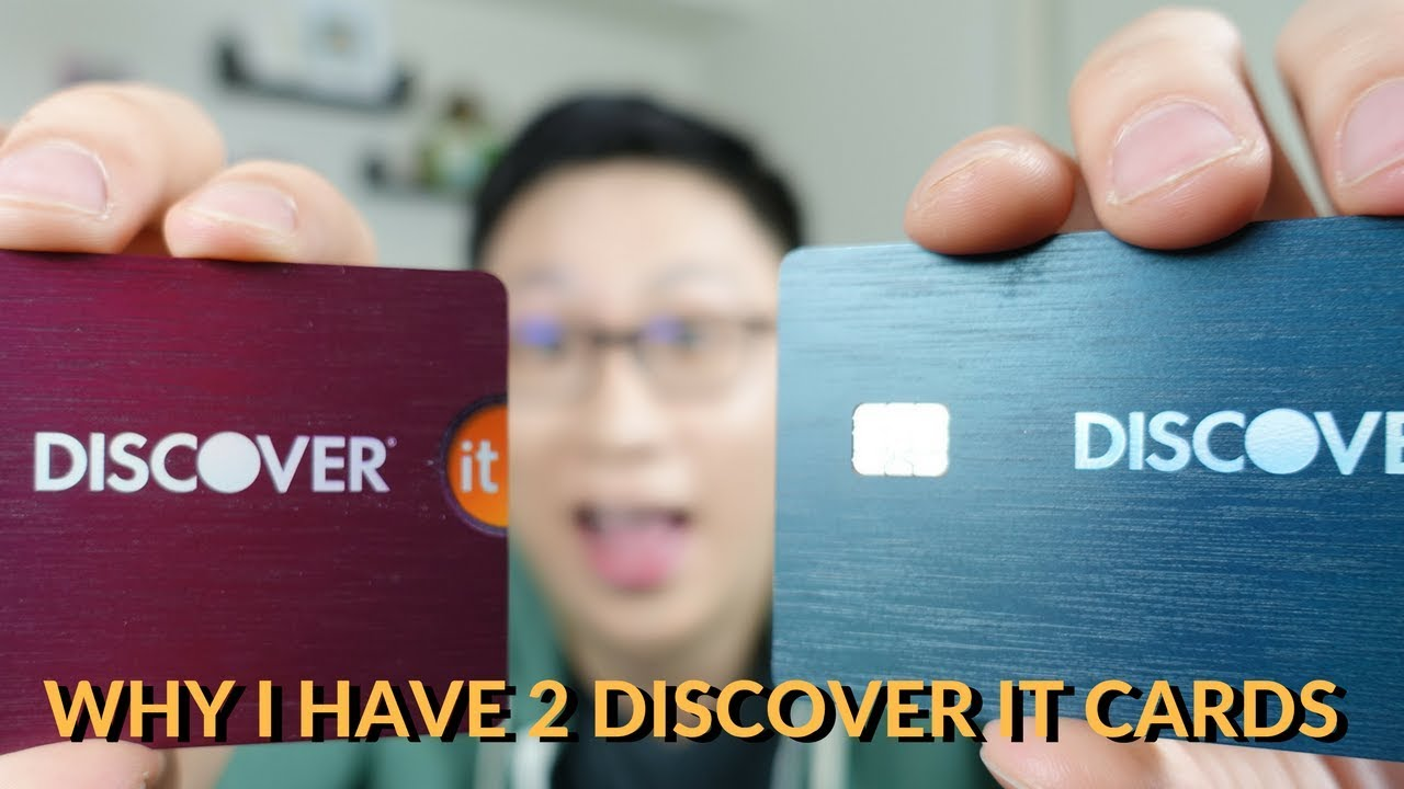 Why I Have 8 Discover It Cards