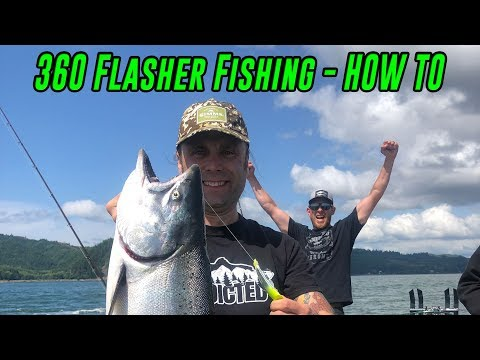 How To Catch SALMON Using 360 Flashers, Spinners, & Superbaits! | In DEPTH Path To SUCCESS!