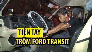Lên Đà Lạt không bắt được taxi, tiện tay trộm luôn Ford Transit rồi lái về quê